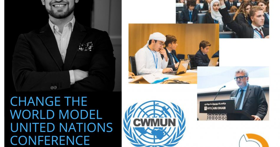 Help Mahmud to join the 2020 CWMUN conference in Abu Dhabi